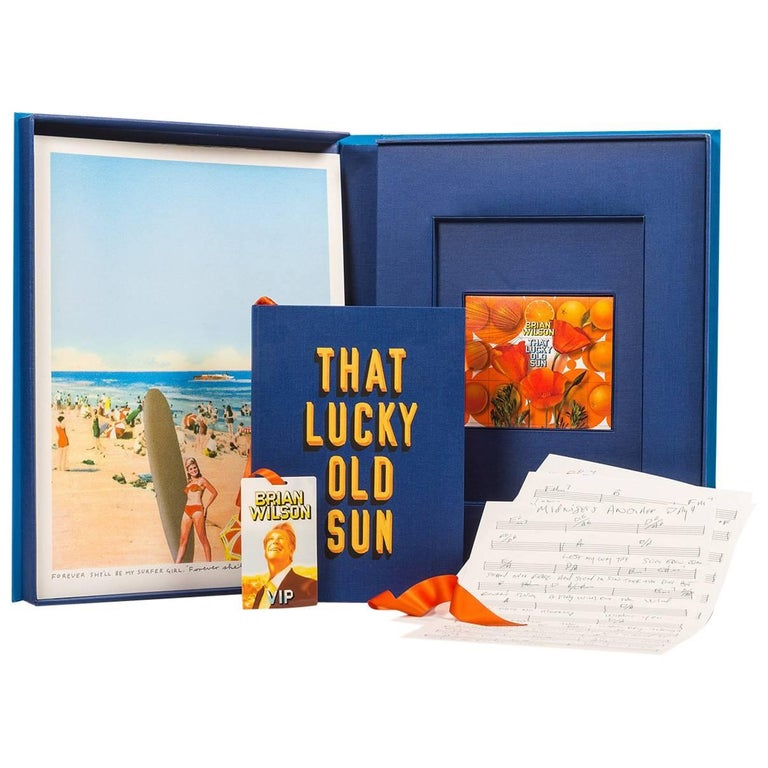 That Lucky Old Sun, Fine Art Boxed Set by Brian Wilson and Sir Peter Blake For Sale