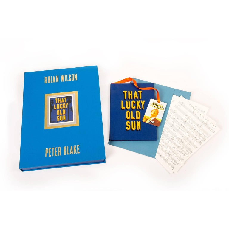 That Lucky Old Sun, Fine Art Boxed Set by Brian Wilson and Sir Peter Blake In Excellent Condition For Sale In Guildford, Surrey