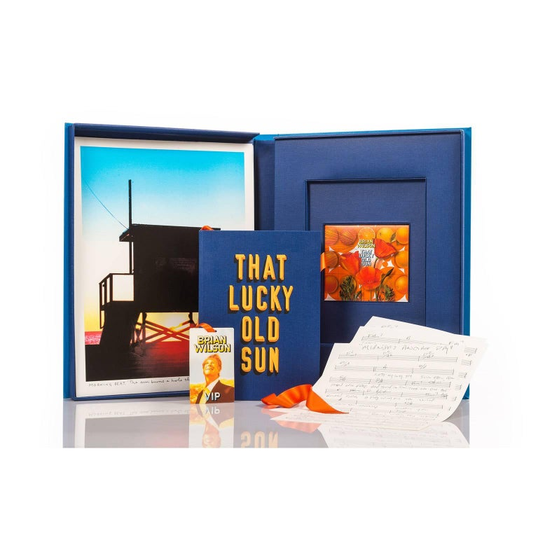 Contemporary That Lucky Old Sun, Fine Art Boxed Set by Brian Wilson and Sir Peter Blake For Sale