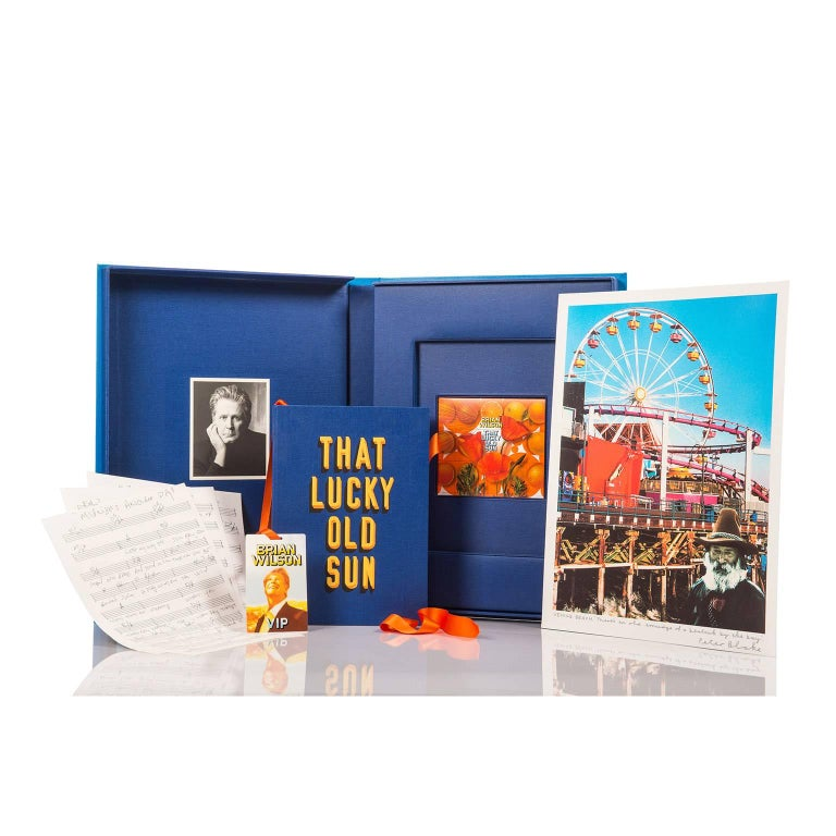 Leather That Lucky Old Sun, Fine Art Boxed Set by Brian Wilson and Sir Peter Blake For Sale