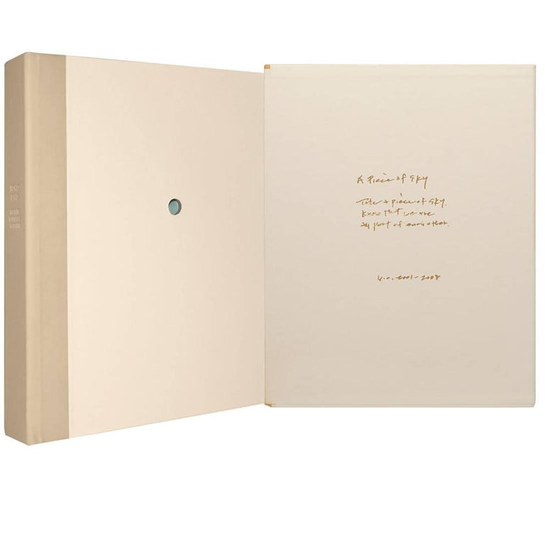 """""""Infinite Universe at Dawn"""" by Yoko Ono, Signed, Limited Edition Book For Sale"""