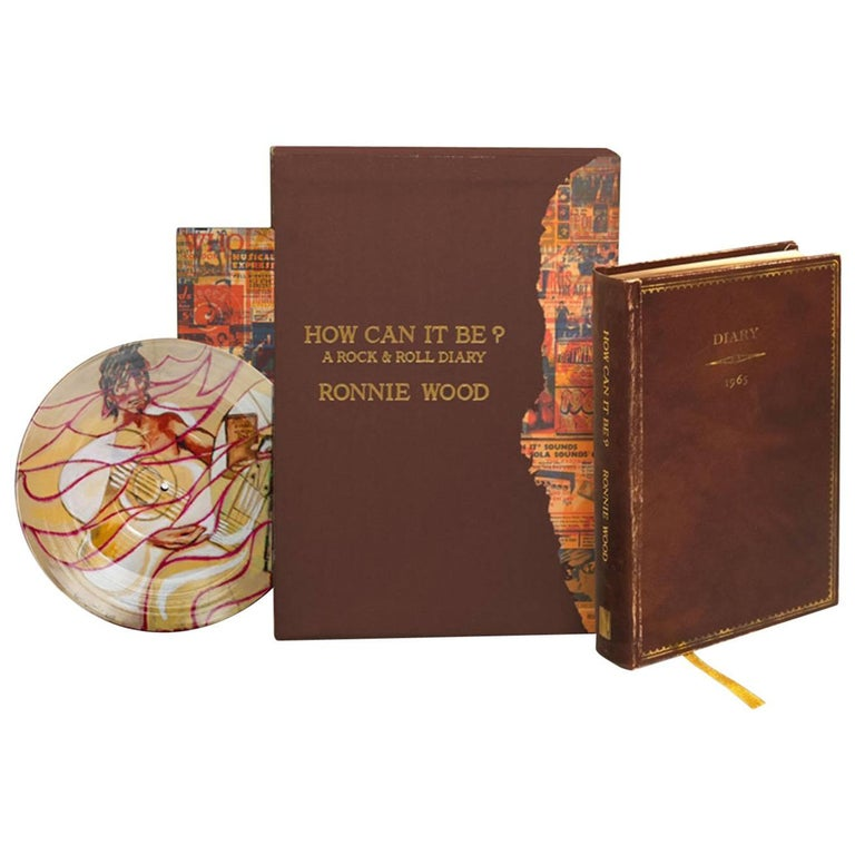 Ronnie Wood - How Can It Be? Limited Edition, Signed Book and Record Set For Sale