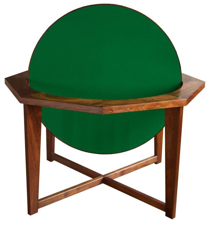 Octagonal hendricks dining poker table for sale at 1stdibs for Hendricks furniture