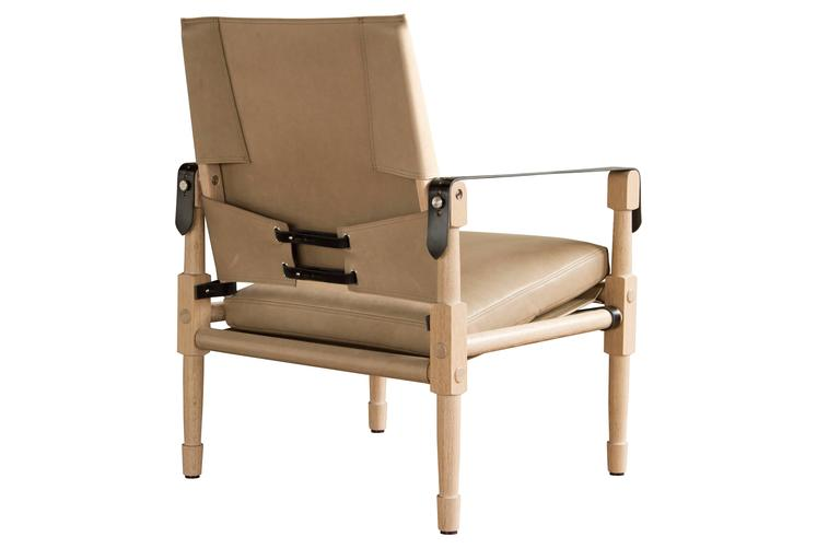 Large Chatwin Lounge Chair In Natural Finish Oak With