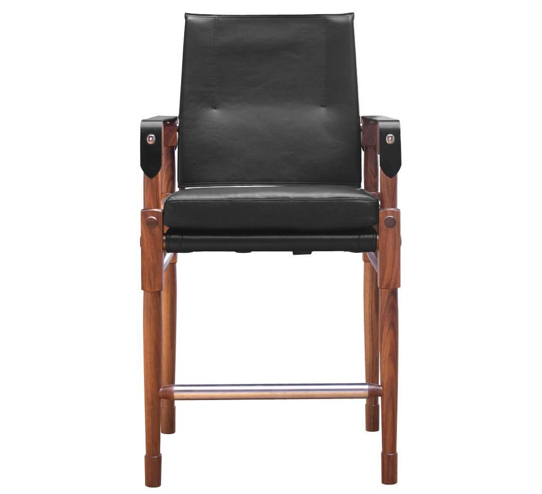 Walnut Chatwin Counter Chair And Bar Chair Or Bar Stool