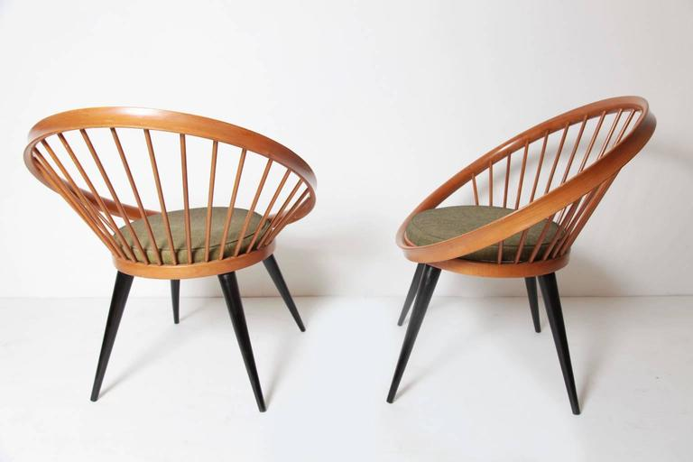 Circle Chair by Yngve Ekström for Swedese, circa 1960 at 1stdibs