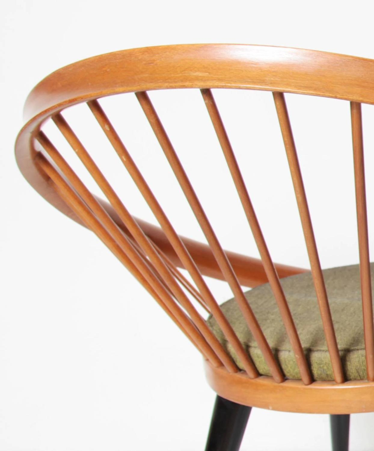 Circle Chair by Yngve Ekström for Swedese, circa 1960 For Sale at 1stdibs