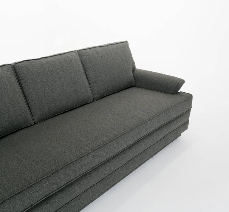 Edward wormley for dunbar long sofa model 488 for sale at for Long couches for sale