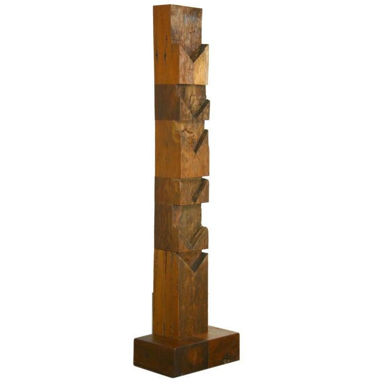 Zanini de Zanine Wood TOTEM #3 Sculpture