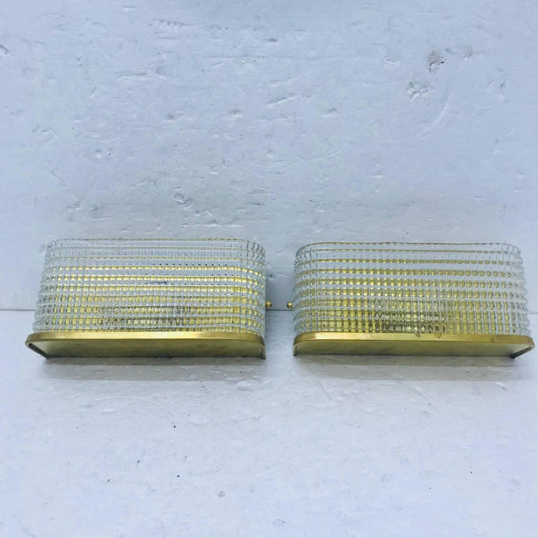 Modern Wall Sconces Italian : Italian Mid-Century Modern Wall Sconces, circa 1970 For Sale at 1stdibs
