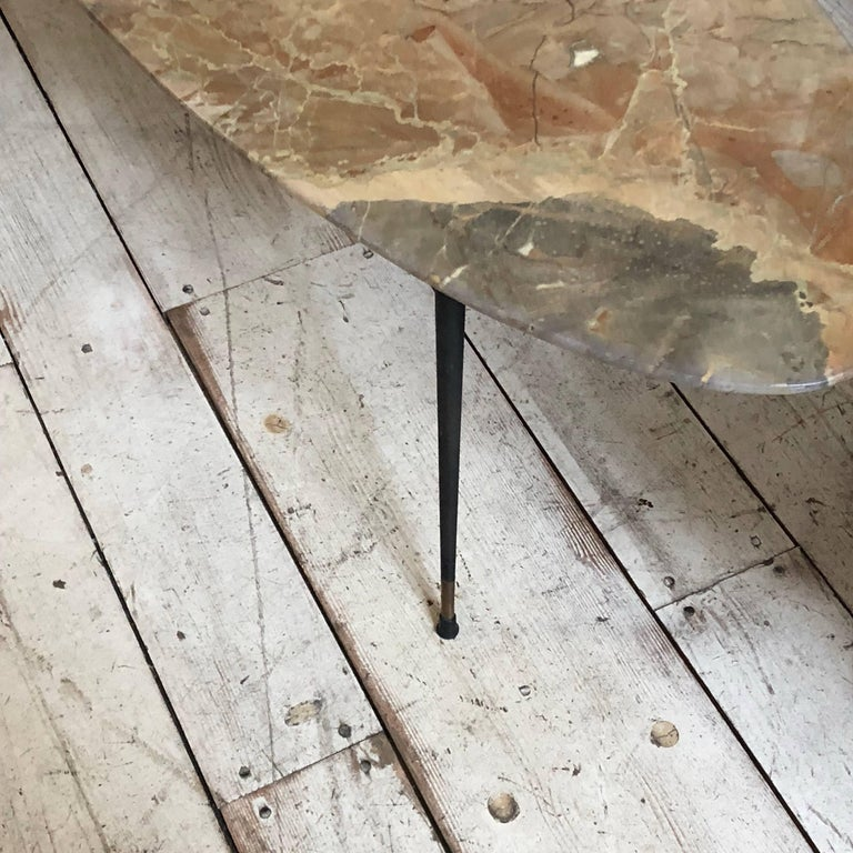 Mid-Century Modern Italian Marble Coffee Table by Elio Capitani For Sale 6