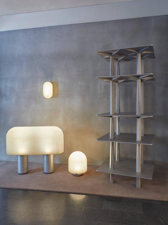 Minimalist Puffball Floor Lamp / Room Divider, Faye Toogood For Sale