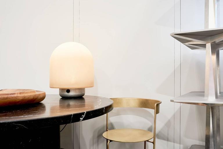 Minimalist Puffball Table Lamp, Faye Toogood For Sale