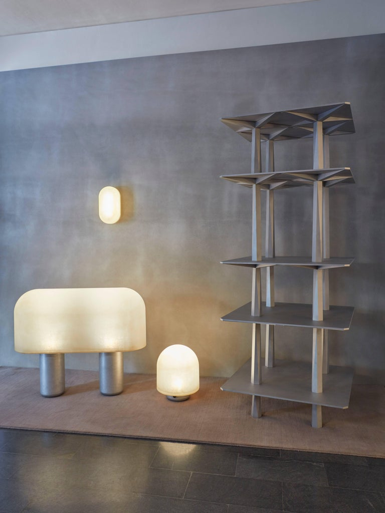 American Centina by Oeuffice, 2017 TOTEM / Shelving / Bookshelf in Solid Aluminum For Sale