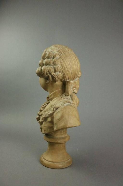 Louis Xiv Style Terra Cotta Bust Of Boy Louis Joseph