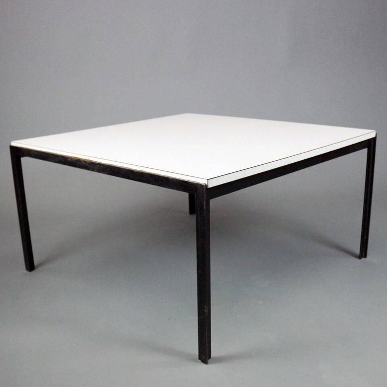 Mid-Century Modern Laminate Coffee Table By Knoll, Circa