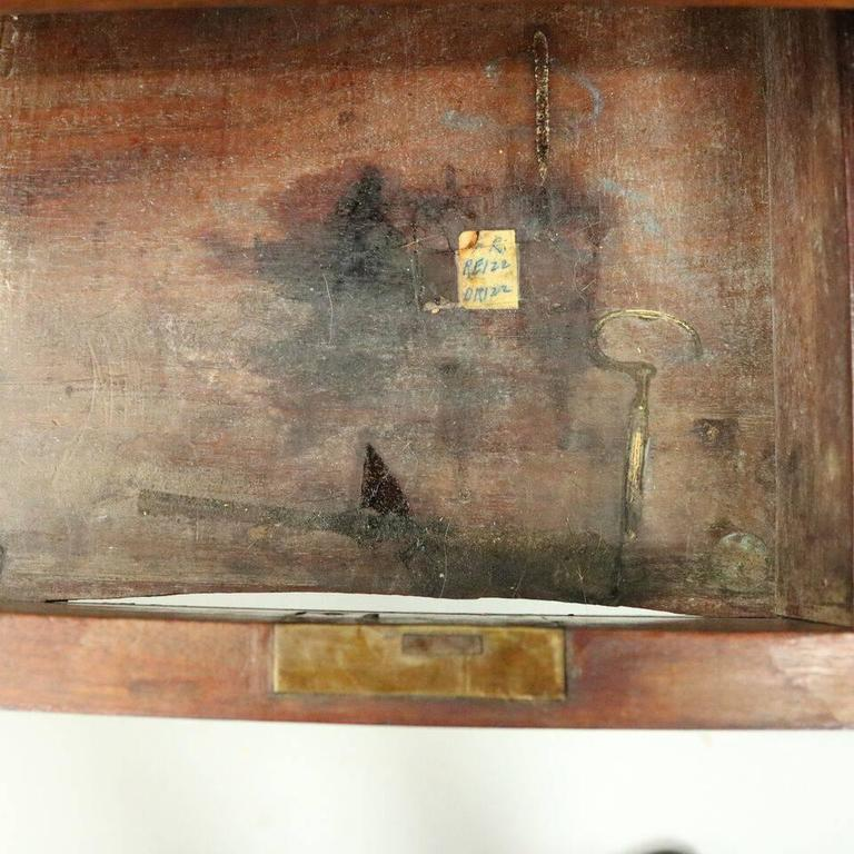 Antique English Regency Mahogany Dressing Table Early