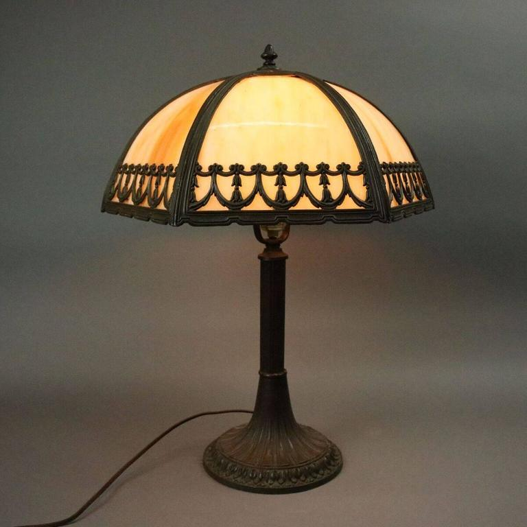 Arts And Crafts Glass Lamp Shades
