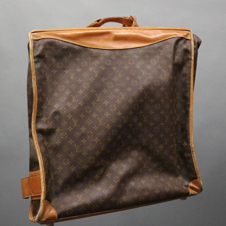 c18c99e32daa Vintage French Louis Vuitton Style Garment Bag