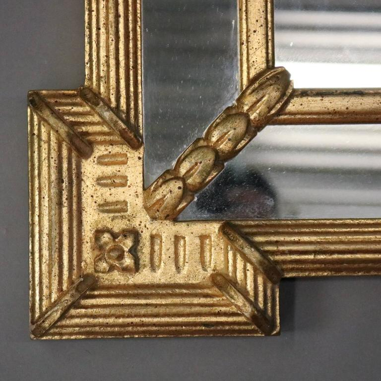 Vintage French Classical Style Giltwood Ethan Allen
