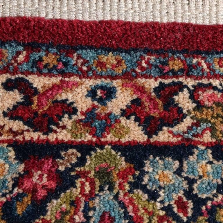 Vintage Persian Style Karastan Red Sarouk Design 785 5 9