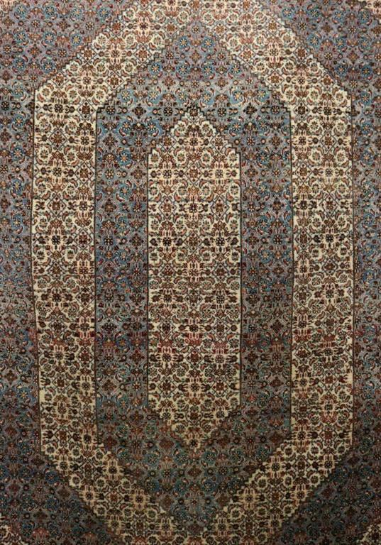 Semi Antique Tabriz Mahi Design Persian Oriental Carpet