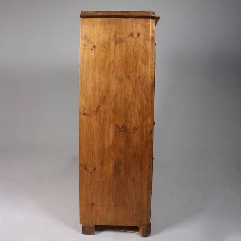 Antique Biedermeier Inlaid Drop Front Secretary, 19th Century For Sale 1