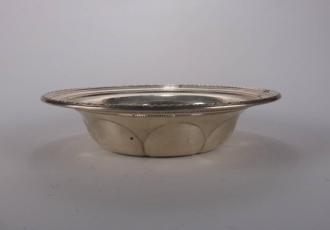 Furniture Antique American Sterling Silver Reticulated Bowl High Quality Other Antique Furniture