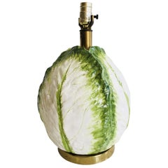 Italian Cabbage Table Lamp