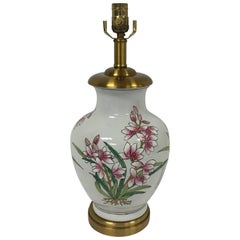 Maitland-Smith Purple Orchid Lamp