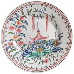 Mottahedeh Pagoda Plate from Birmingham Museum of Art
