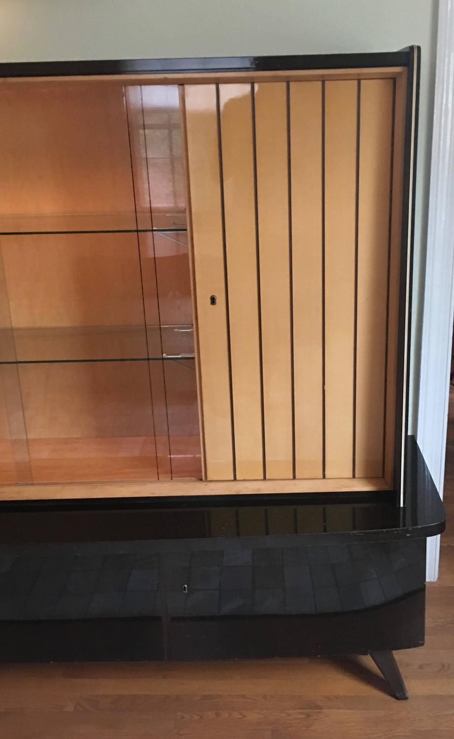 1950 S Mid Century Modern German Shrunk Cabinet For Sale