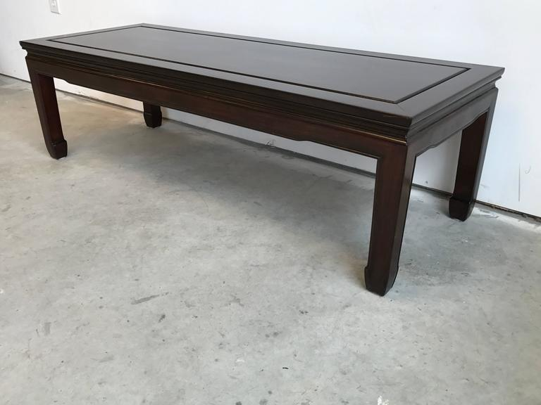 1960s Ming Style Coffee Table At 1stdibs