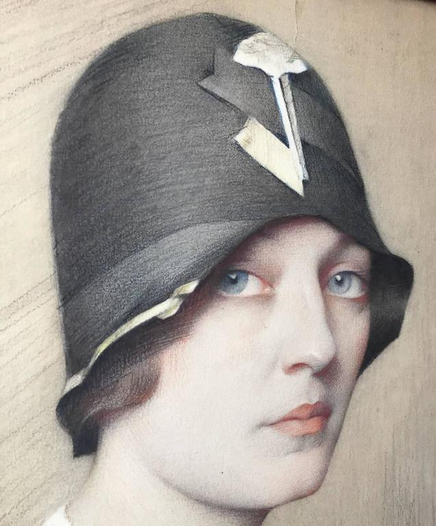 Portrait of Mona von Bismarck by Savely Abramovich Sorine 3
