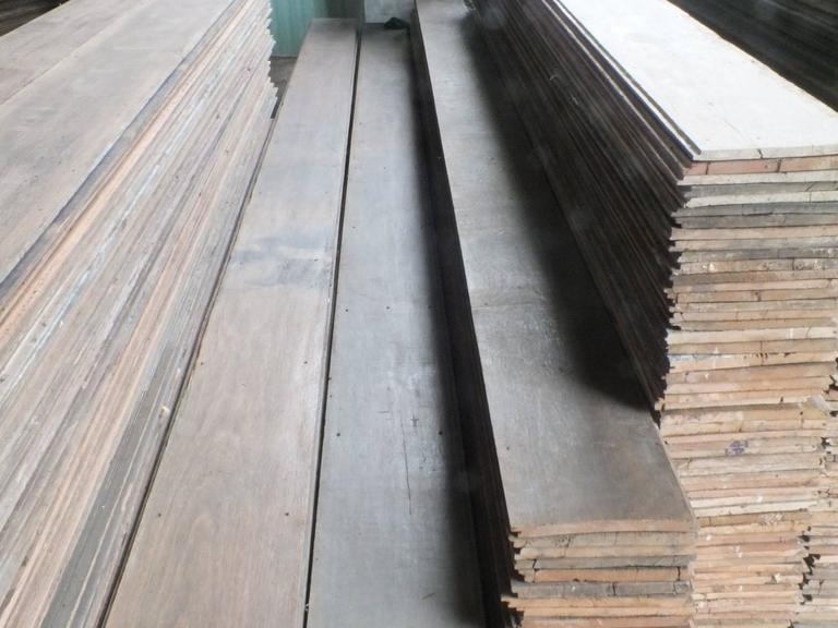 Reclaimed Teak Floor Boards Between 100 And 150 Years Old