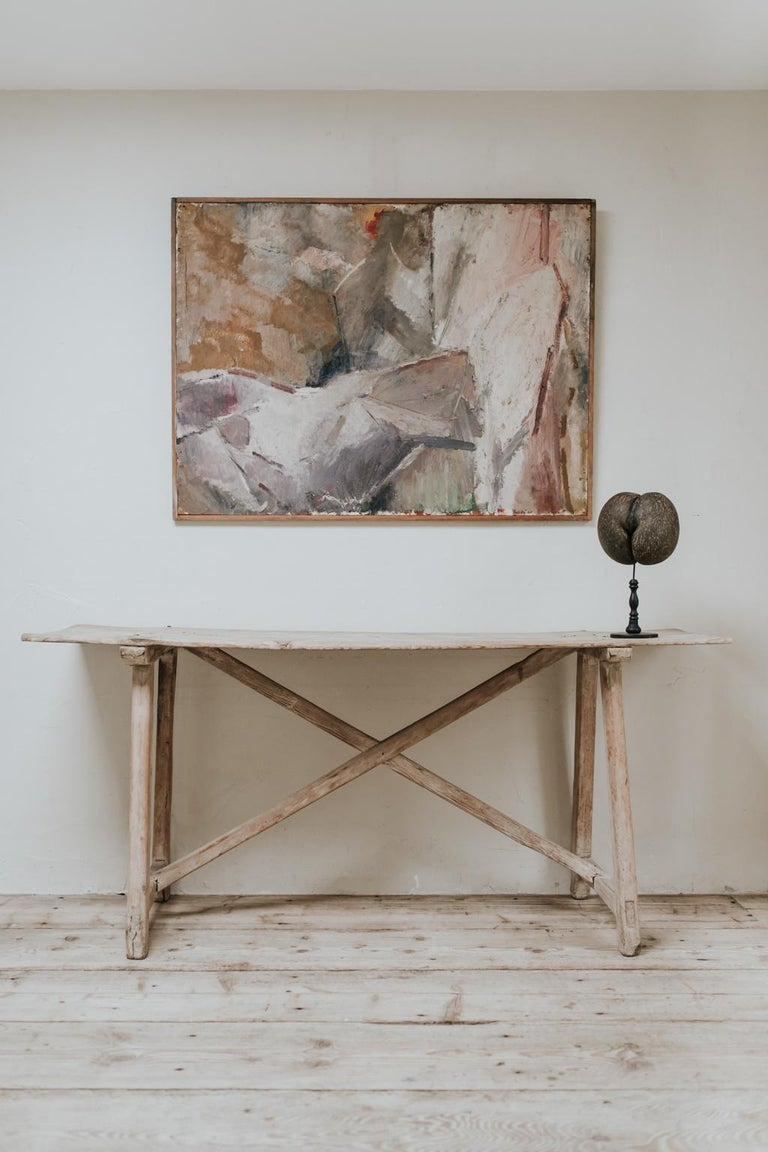 British 20th Century Abstract Painting For Sale