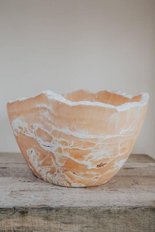 Calcite Bowl For Sale 2