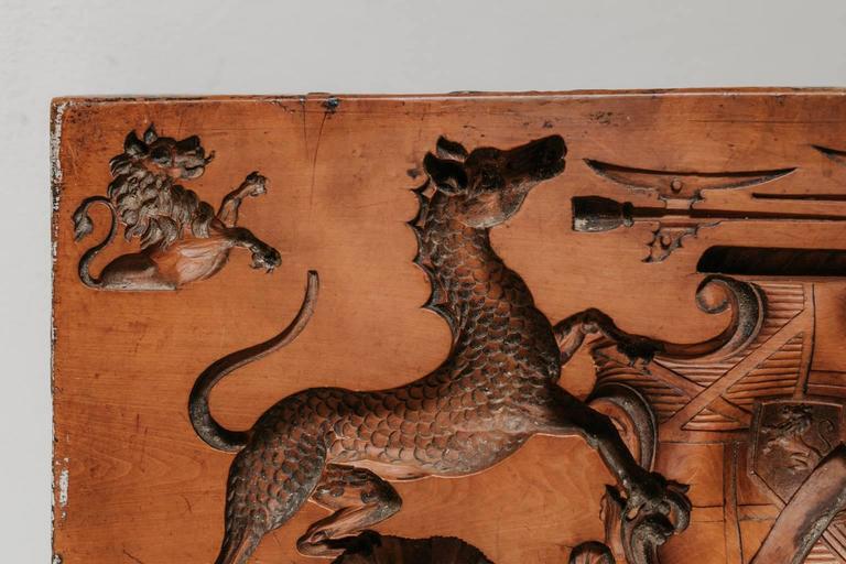 British 18th Century Boxwood Mold For Sale