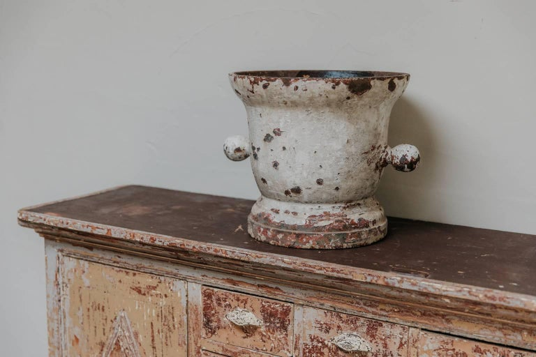 18th Century Cast Iron Mortar For Sale 2