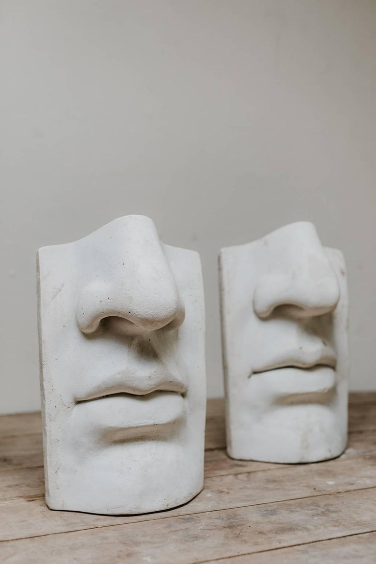 20th Century Plaster Figures In Good Condition For Sale In Brecht, BE