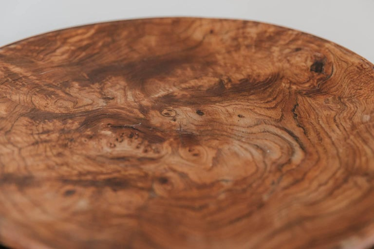 Wonderful pair of root chestnut tazza's, wonderful dry patina.