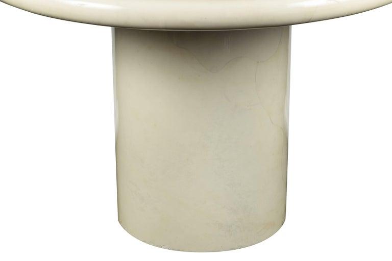 Modern Karl Springer Goatskin Center Table For Sale