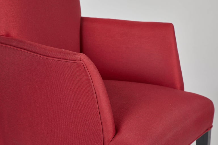 Set of 12 Red Dining Chairs For Sale 2