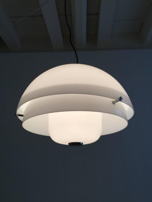 Italian Luigi Massoni Ceiling Lamp
