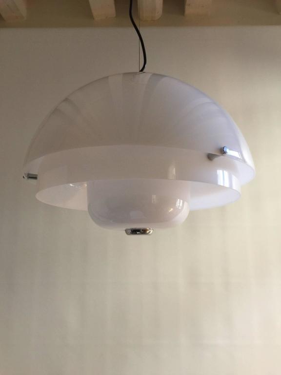 Mid-20th Century Luigi Massoni Ceiling Lamp