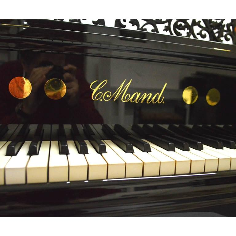Edwardian Carl Mand Grand Piano For Sale