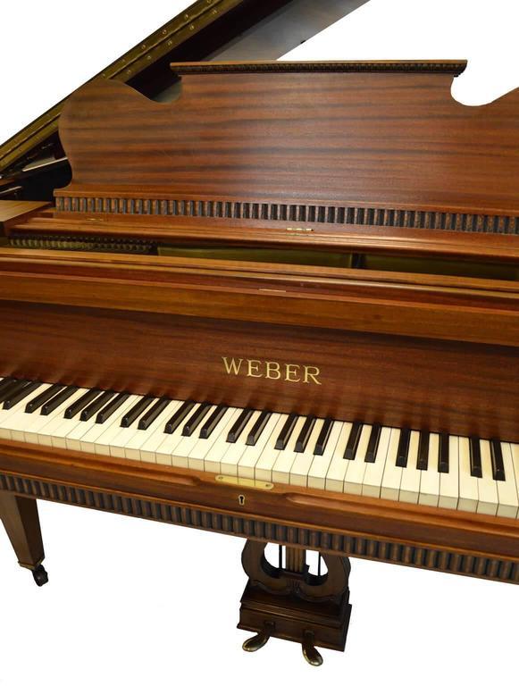 Weber Baby Grand Piano in Regency Style 3