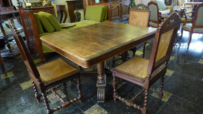 Cool Antique French 19Th Century Rectangle Extending Oak Table Interior Design Ideas Oteneahmetsinanyavuzinfo
