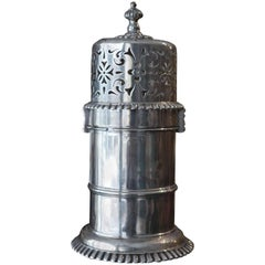 Antique Victorian Silver Lighthouse Style Sugar Caster