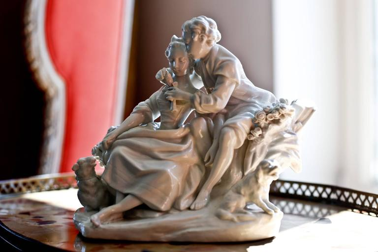 18th Century Biscuit Porcelain by Boucher 1
